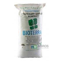 Органическое удобрение Биотерра, гумифицированный компост, 75л