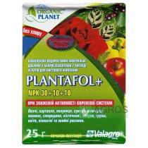 Комплексное минеральное удобрение для начала вегетации Plantafol+ (Плантафол+), 25г, NPK 30.10.10, Valagro (Валагро)