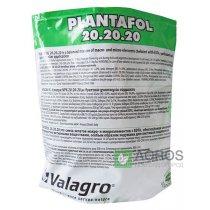 Комплексное минеральное удобрение для роста плодов Plantafol (Плантафол), 1кг, NPK 20.20.20, Valagro (Валагро)