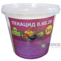 Комплексное минеральное удобрение Pekacid (Пекацид), 1кг, NPK 0.60.20, TM Rosla (Росла)