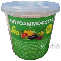 Комплексное минеральное удобрение Нитроаммофоска, 1кг, TM Rosla (Росла)