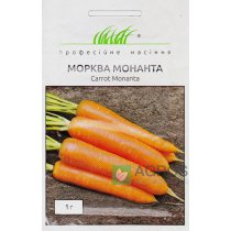 Семена моркови Монанта, 2г, Rijk Zwaan, Голландия, Семена Pro seeds