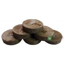 Торфяная таблетка Jiffy (Джиффи), 100шт, 33мм, TM Rosla (Росла)