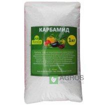 Высококонцентрированное азотное удобрение Карбамид, 1кг, N 46.4, TM Rosla (Росла)