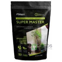 Комплексное минеральное удобрение для декоративно-лиственных комнатных растений Super Master (Супер Мастер), 250г, NPK 17.6.18, Valagro (Валагро)