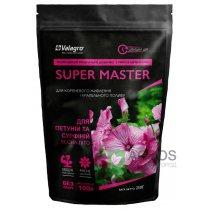 Комплексное минеральное удобрение для петуний и сурфиний Super Master (Супер Мастер), 250г, NPK 20.20.20, Весна-Лето, Valagro (Валагро)