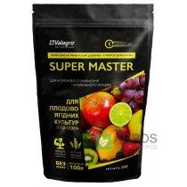 Комплексное минеральное удобрение для плодово-ягодных культур Super Master (Супер Мастер), 250г, NPK 3.11.38, Лето-Осень, Valagro (Валагро)