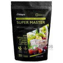 Комплексное минеральное удобрение для плодово-ягодных культур Super Master (Супер Мастер), 250г, NPK 20.20.20, Весна-Лето, Valagro (Валагро)