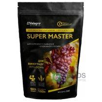 Комплексное минеральное удобрение для винограда Super Master (Супер Мастер), 250г, NPK 3.11.38, Лето-Осень, Valagro (Валагро)