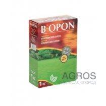 Удобрение для газона Biopon (Биопон) 1кг., Осень, NPK 0.10.15