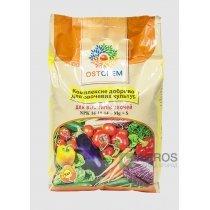 Комплексное удобрение для всех видов овощей Ostchem (Остчем) NPK 14-10-14+Mg+S, 3кг