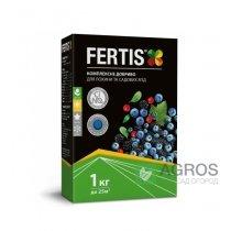 Комплексное минеральное удобрение для голубики Fertis (Фертис), 1кг, NPK 12.8.16+МЕ