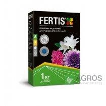 Комплексное минеральное удобрение для рододендронов Fertis (Фертис), 1кг, NPK 12.8.16+МЕ